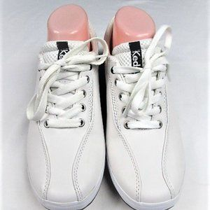 NWOT White Leather Keds Tennis Shoes-8.5